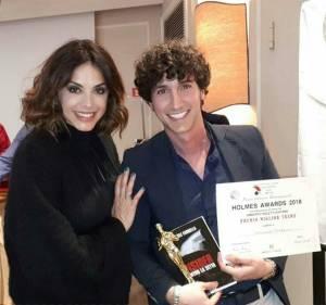 Emanuele Fardella con l'attrice Elena Russo